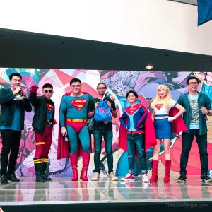 And of course, there were games! #Superman80thPH