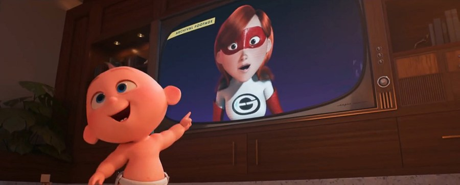 Jack-jack steals the show in The Incredibles 2.