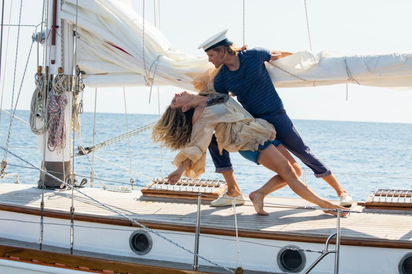 Lily James packs charisma in Mamma Mia, Here We Go Again! | Credit: United International Pictures