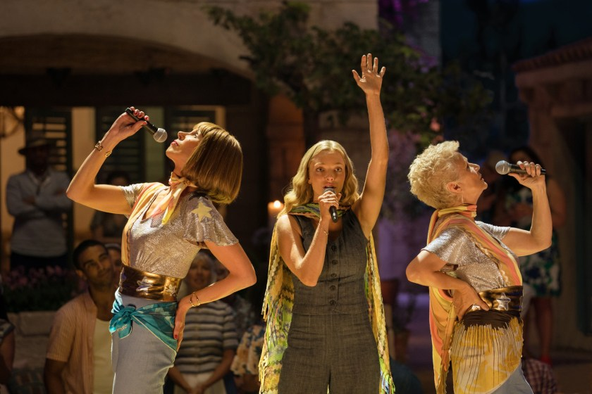 Every song is a delight in Mamma Mia! Here We Go Again | Credit: United International Pictures