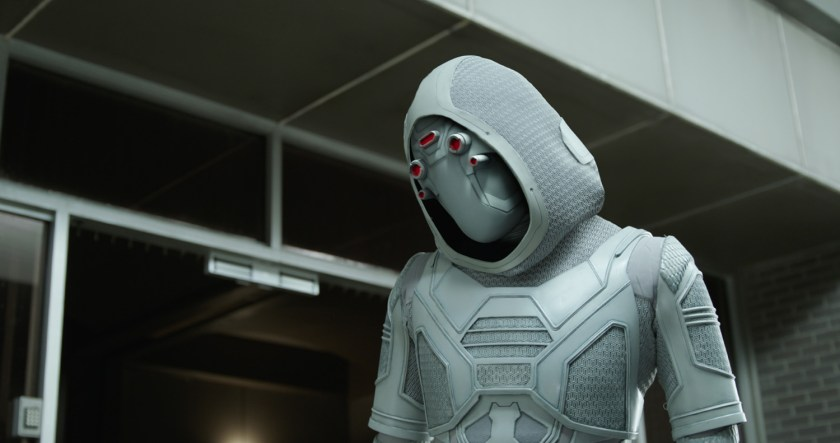 Ghost (Hannah John-Kamen) is a threat in Ant-Man and the Wasp. | Credit: Marvel Studios