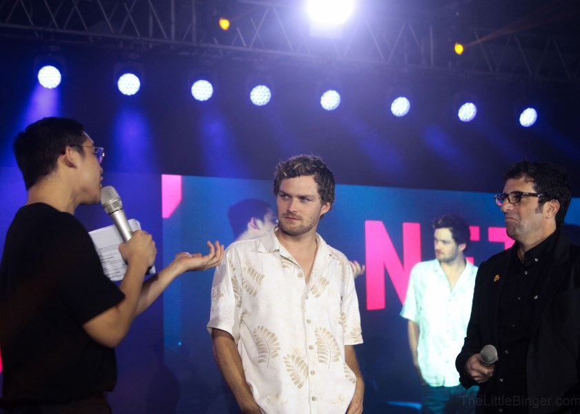 Finn Jones and Raven Metzner of Iron Fist surprised the fans during Hall N! #NetflixAPCC