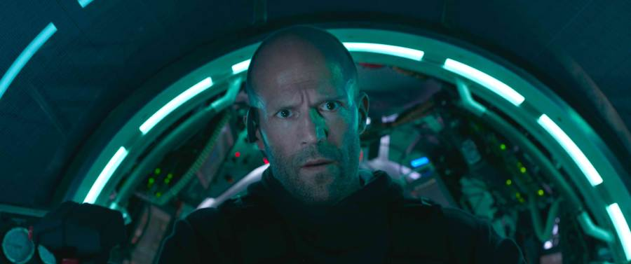 Jason Statham is the shark hunter in The Meg. | Credit: Warner Bros Pictures