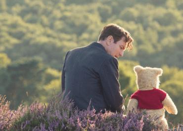Christopher Robin (Ewan McGregor) and Pooh in Disney's live-action adventure CHRISTOPHER ROBIN. | Credit: Walt Disney Studios