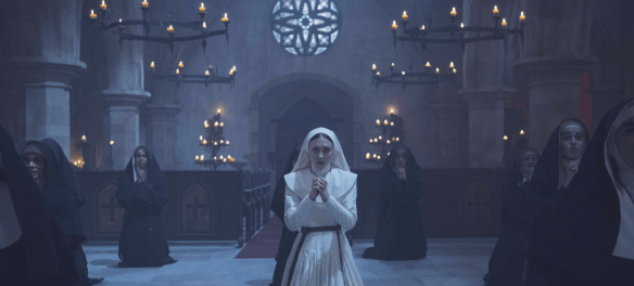 The Nun is a series of half scares. | Credit: Warner Bros. Pictures