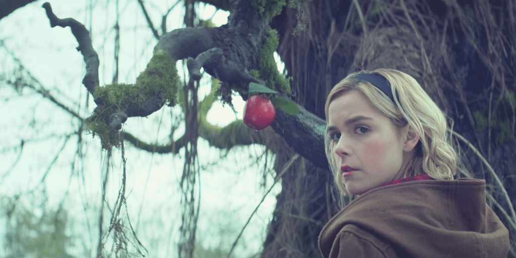 Kiernan Shipka is a different Sabrina in CHILLING ADVENTURES OF SABRINA | Credit: Netflix