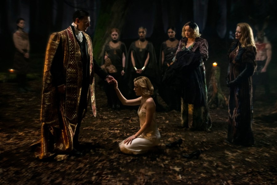Things got dark in CHILLING ADVENTURES OF SABRINA. | Credit: Netflix