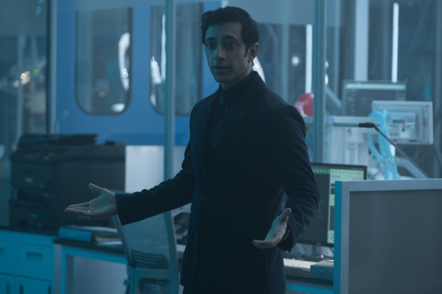 Riz Ahmed stars in VENOM | Credits: Columbia Pictures