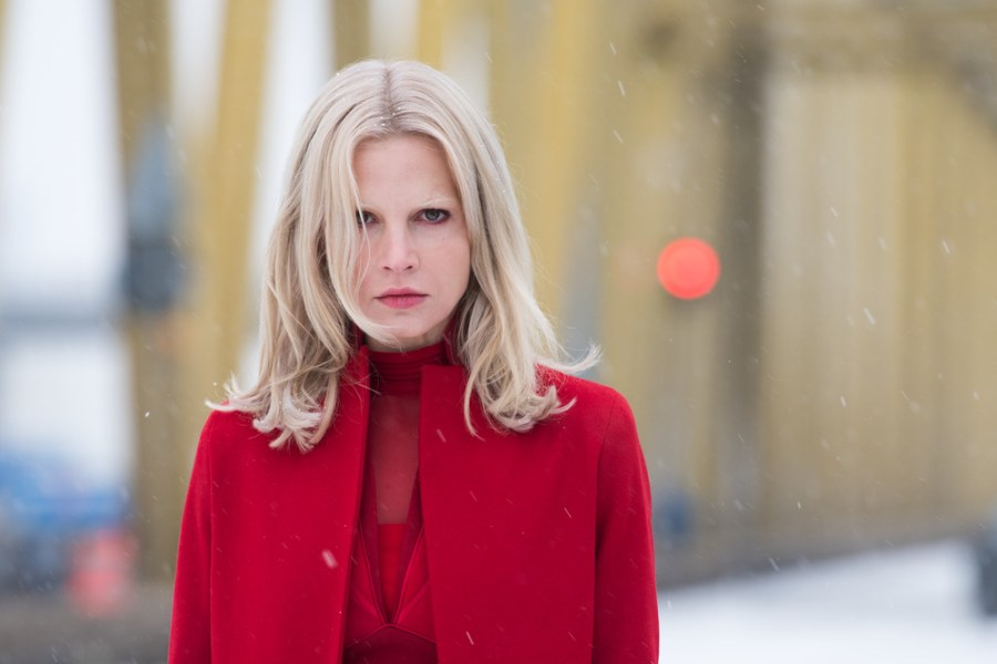 Camilla Salander (Sylvia Hoeks) in THE GIRL IN THE SPIDER'S WEB. | The Little Binger | Credit: Columbia Pictures