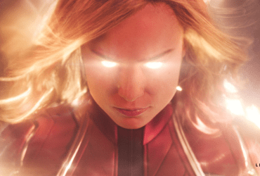 She is a hero- Captain Marvel.   The Little Binger   Credit: Marvel Studios