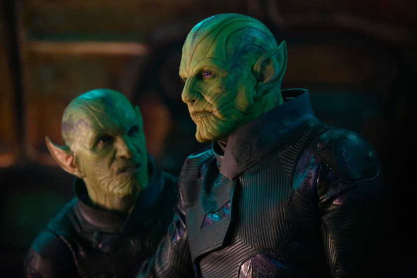 Fear the Skrulls in Captain Marvel. | The Little Binger | Credit: Marvel Studios