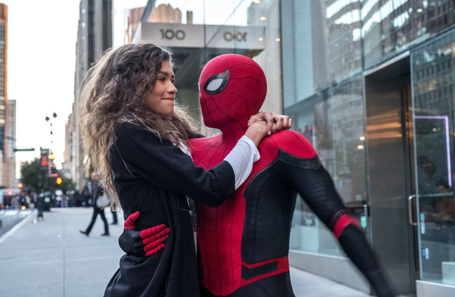 zendaya spider-man far from home