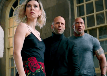 Jason Statham, Vanessa Kirby, and Dwayne Johnson rock in Fast & Furious: Hobbs and Shaw | The Little Binger | Credit: United International Pictures