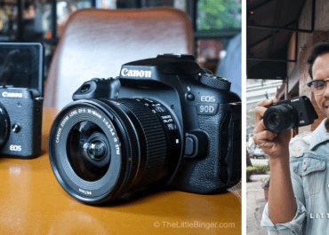 Experience speed and performance with Canon M6 Mark II and Canon EOS 90D.   The Little Binger