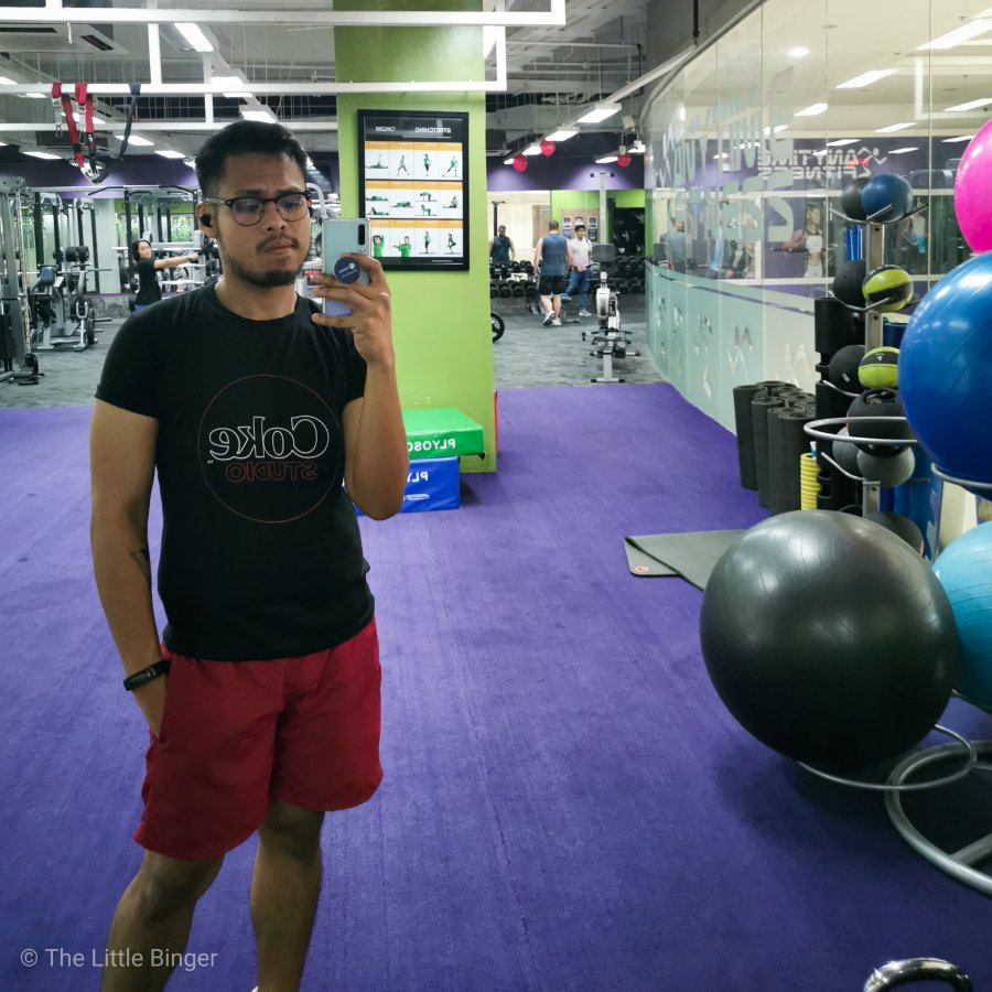 My daily gym visits are now made more exciting with Huawei Band 4. | The Little Binger