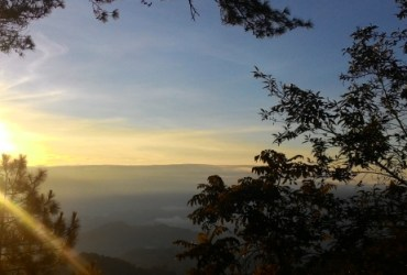 Enjoy the scenery at Mine's View when Solobackpacking in Baguio - The Little Binger