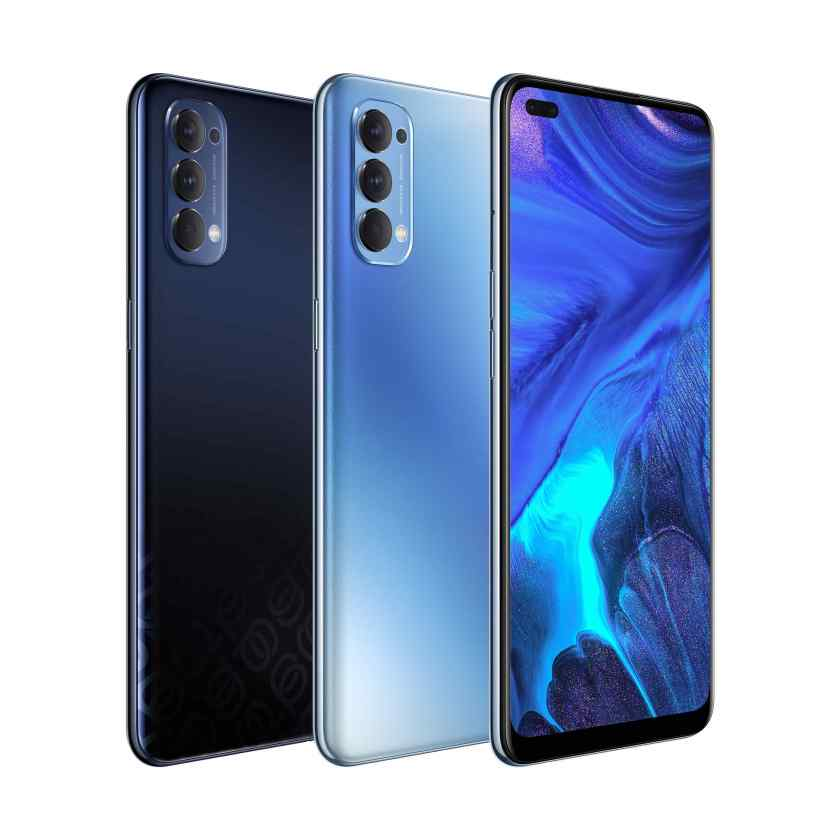 The new OPPO Reno 4 in Space Black and Galactic Blue | For #ClearlyTheBestYou, Experience OPPO Reno 4 | The Little Binger