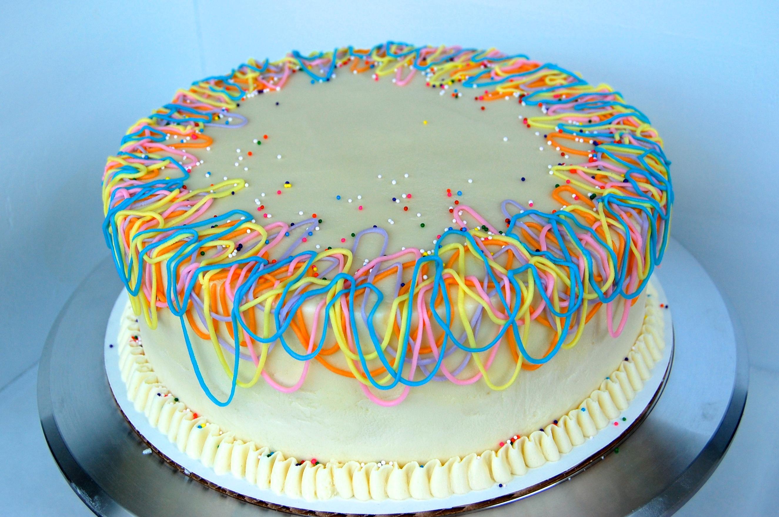 White Chocolate Birthday Cake Week 25