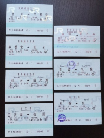 how the tickets look like if you pre-book your seats