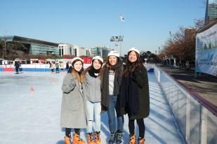 Ice Skating Yeouido Park