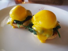 The eggs benedict could be better