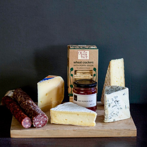 Cheese and Cured Meat Selection