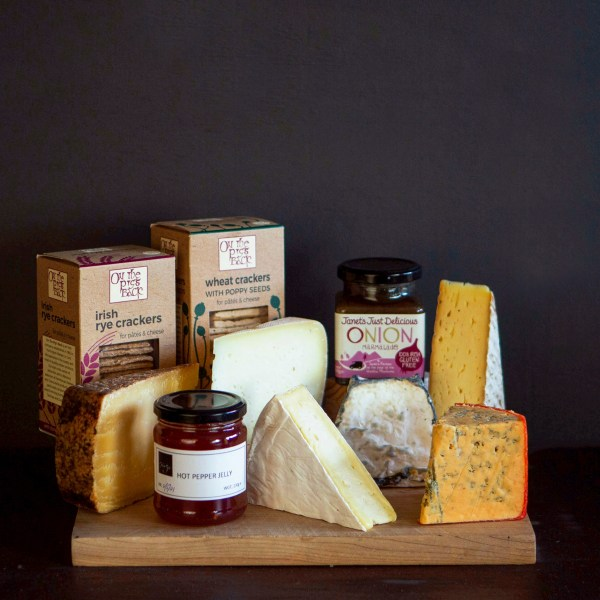 The Full Cheese Board Selection