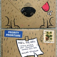 Mail Me Art 2 - January's winner: Michael Hacker