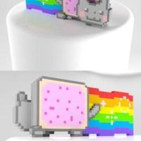 Metin Seven - Nyan Pop Tart Cat 3D print