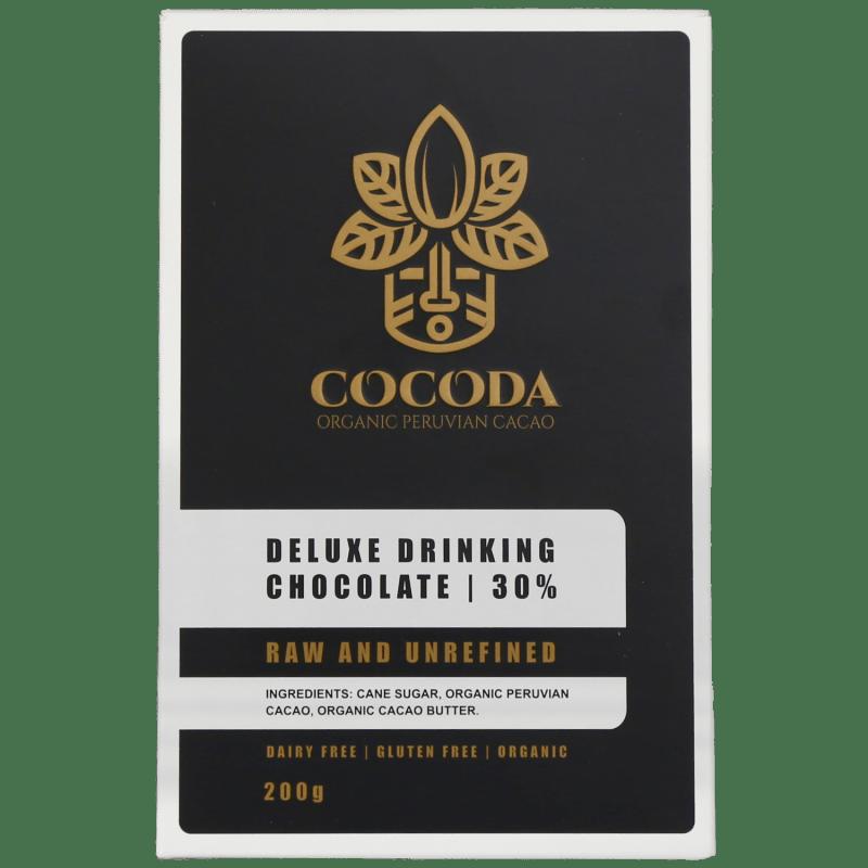 cocoda premium drinking chocolate 30 percent