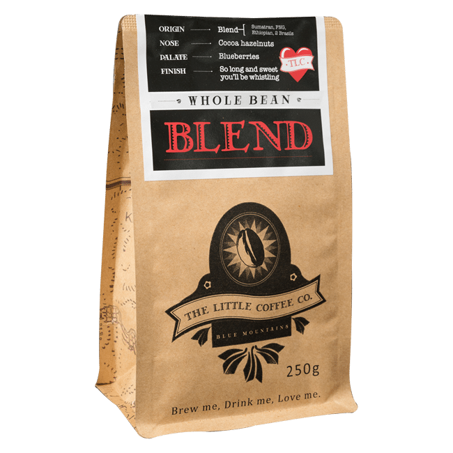 TLC blend the little coffee co