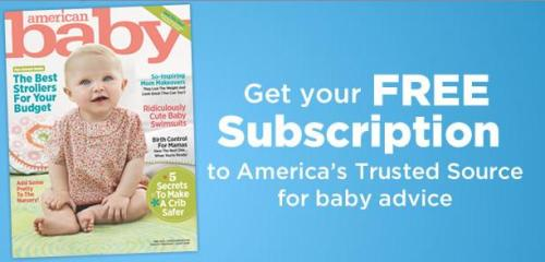 American Baby Magazine Subscription