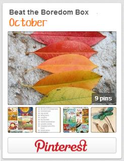 October Beat the Boredom Box Pinterest Board   ||   thelittledabbler.com