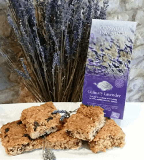 Lavender Flapjacks Recipe