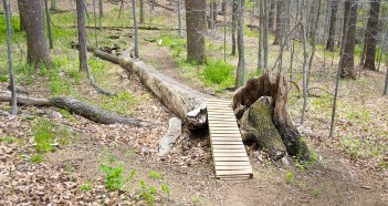 Cool Mountain Bike Obstacle (April 2012)