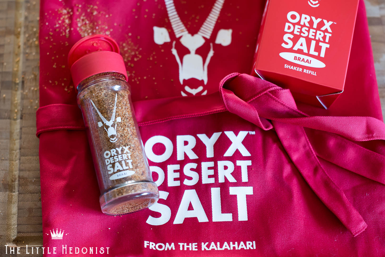 {PRODUCT REVIEW} Oryx Desert Salt: Braai