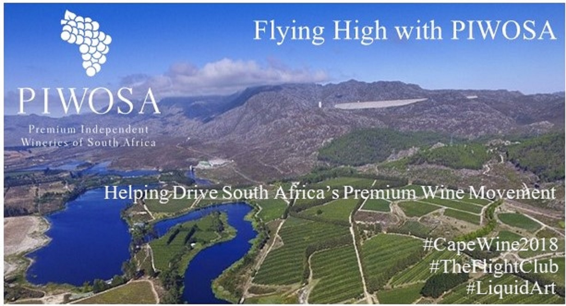 {NEWS}{MEDIA RELEASE} LOCAL SOMMELIERS AND WINE PROFESSIONALS INVITED TO FLY HIGH WITH PIWOSA AT CAPE WINE 2018