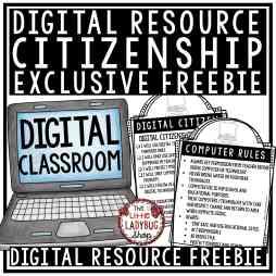 Citizen Blog Freebie - Digital Resource