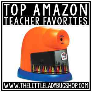 Top Amazon Teacher Favorites finds for the classroom.