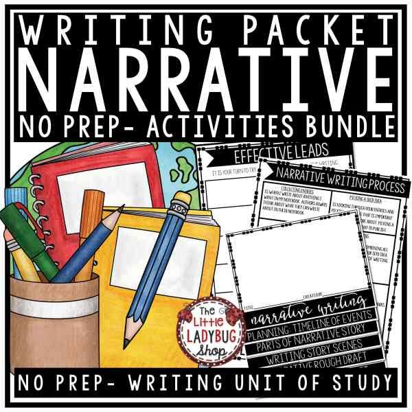 Personal Narrative Writing Unit