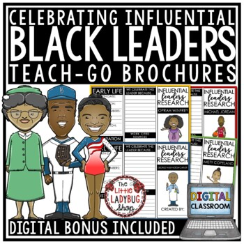 digital black history month research activities biography report templates
