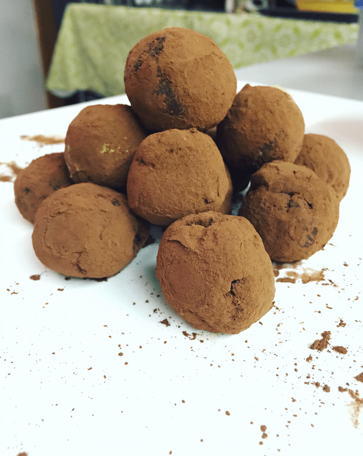 The Little Loft - Avocado Truffles 1