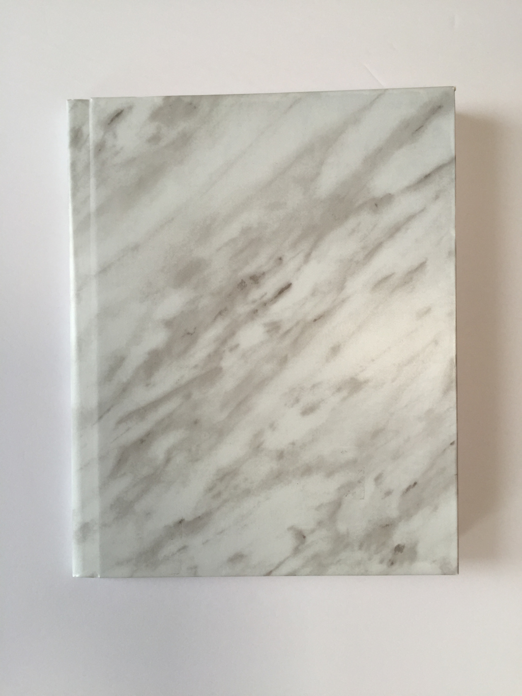 The Little Loft - marbled notebook front