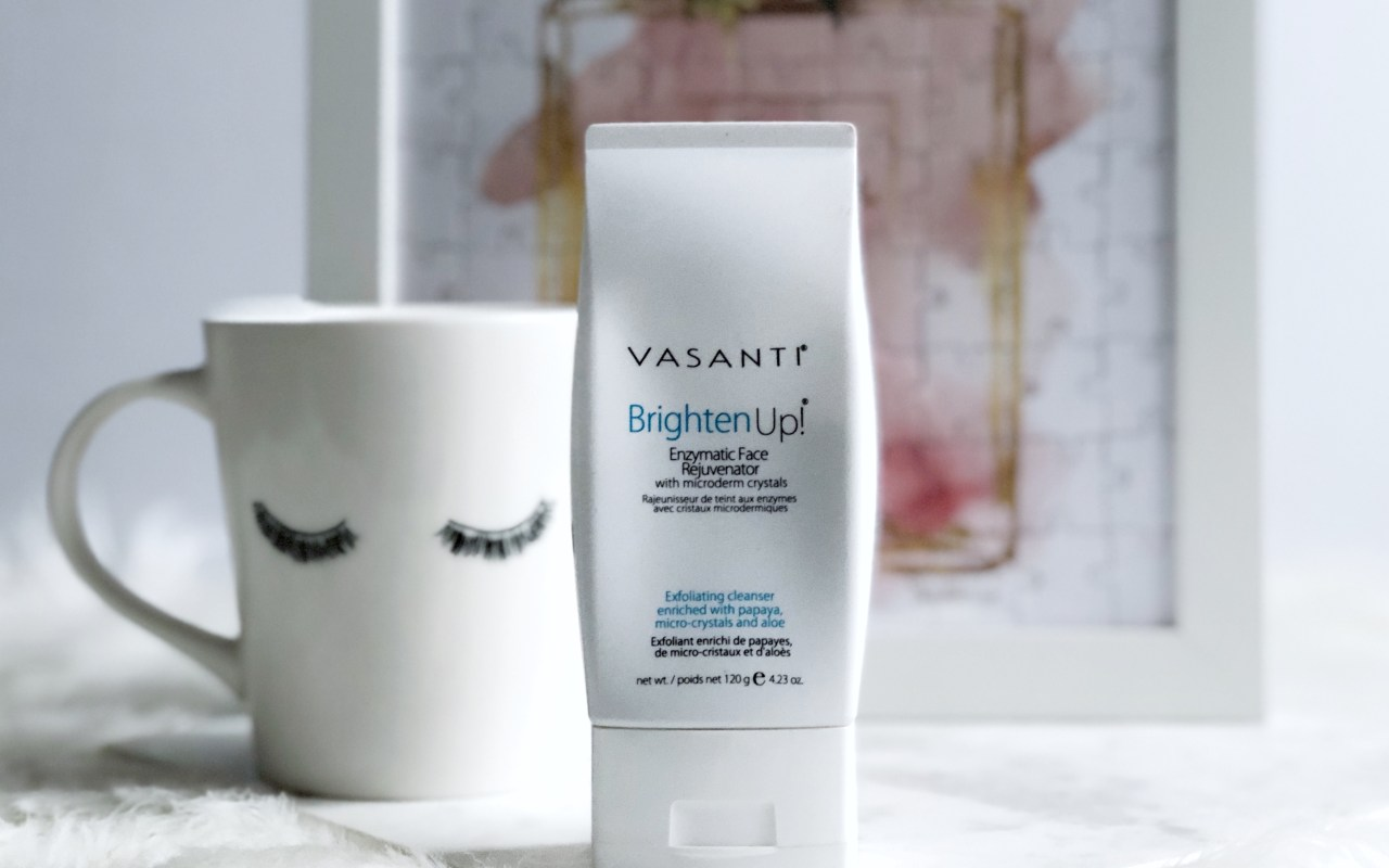 Vasanti's Brighten Up! Face Exfoliator Review