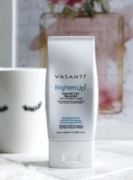 Vasanti's Brighten Up! Face Exfoliator Review