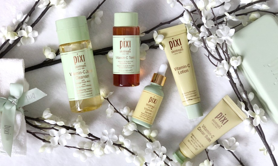 Pixi Beauty Skintreats Vitamin-C PR Package Review