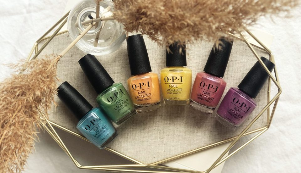 OPI Hidden Prism Nail Polish Collection