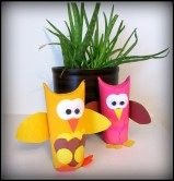 Paper Roll Owls Craft Indoor Activities for Toddlers