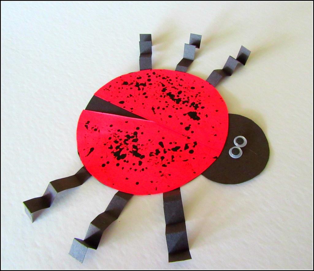 finished ladybug