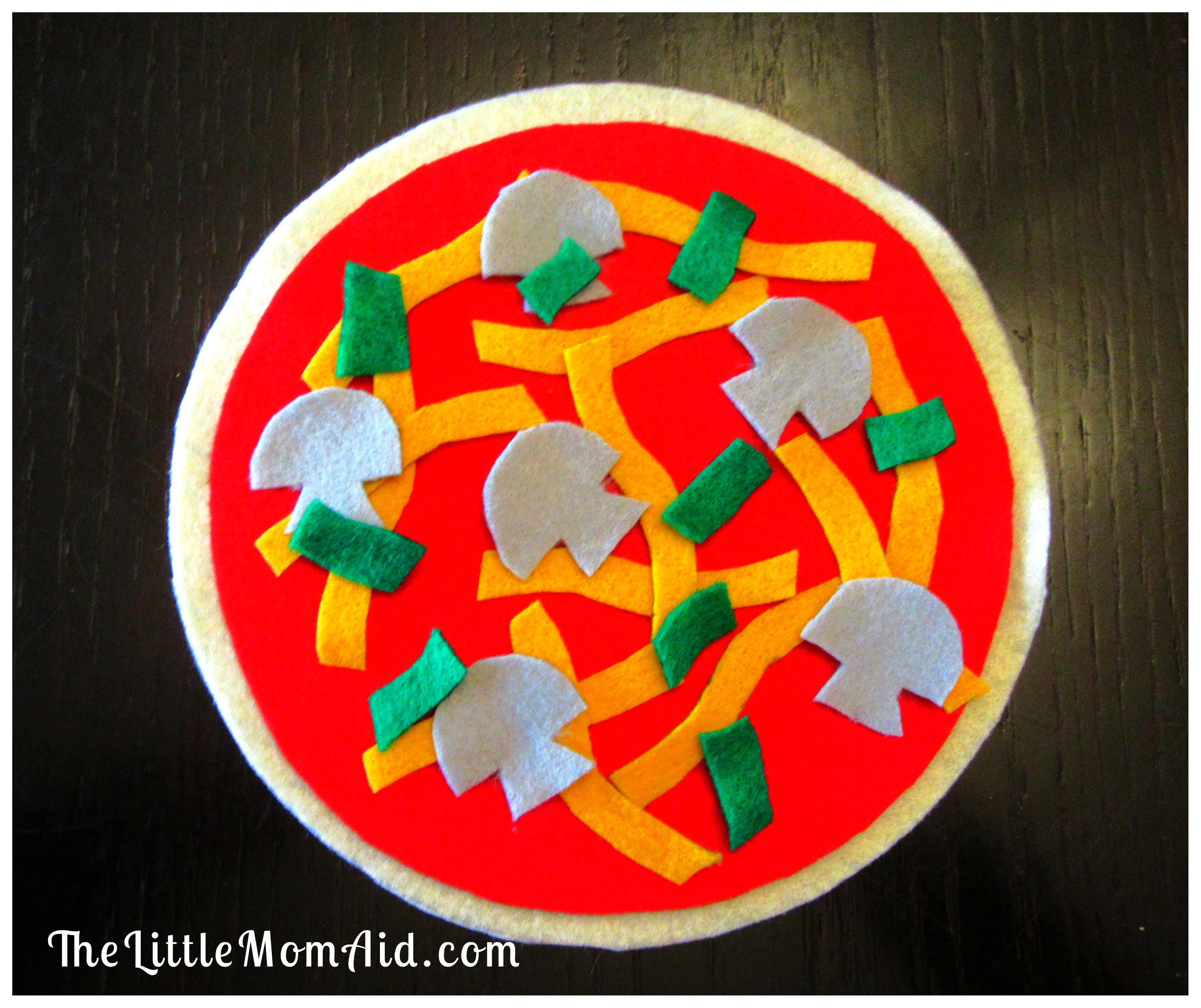 Make Your Own Felt Pizza Toddlers Diy Felt Pizza Toddlers